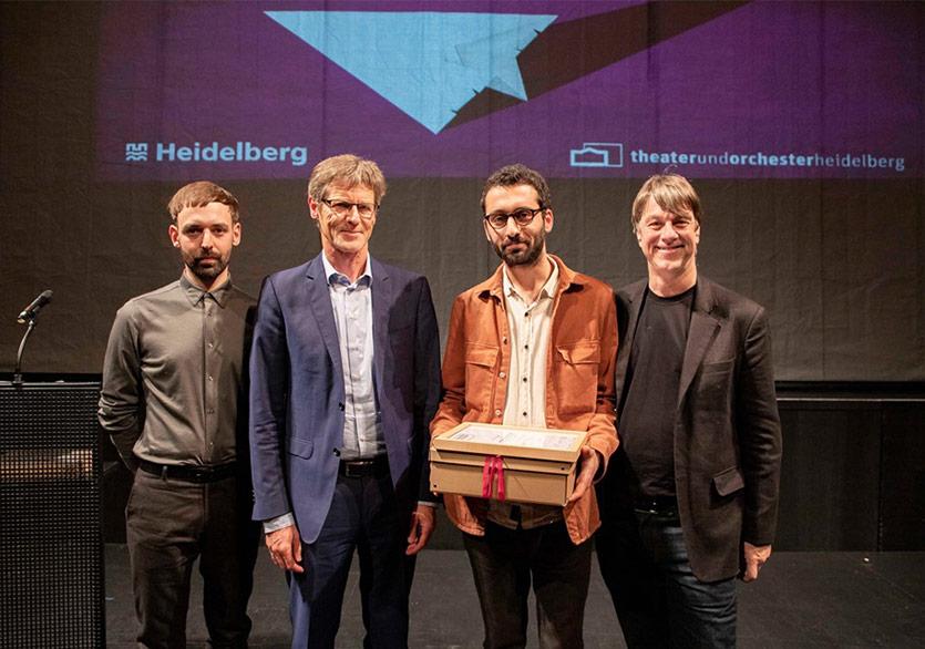 Ömer Kaçar'a Uluslararası Yazar Ödülü