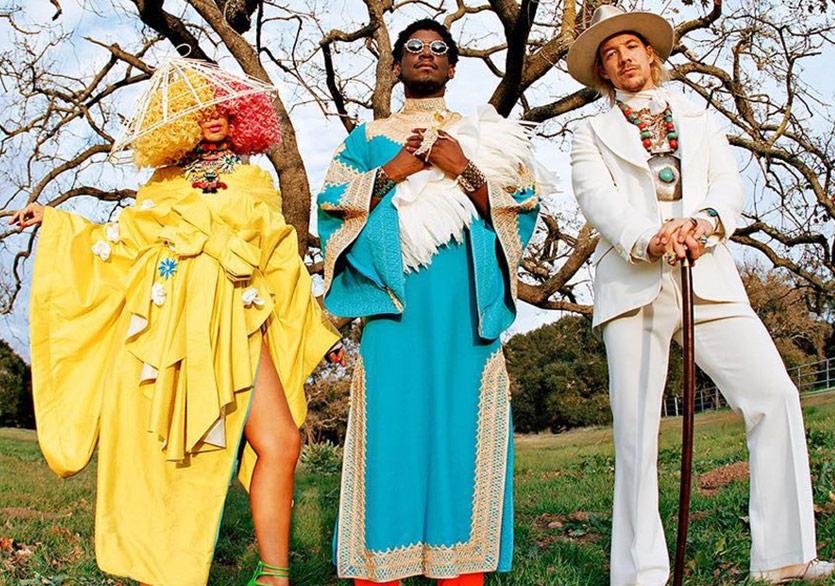 Labrinth, Sia ve Diplo'dan (LSD) Yeni Şarkı: Thunderclouds