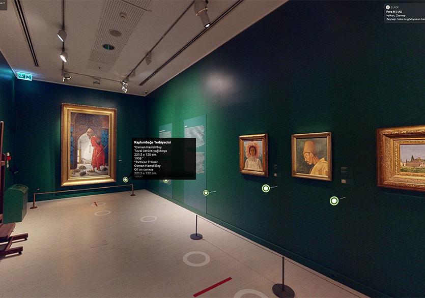 Pera Müzesi'nden Üç Boyutlu Sergi Deneyimi