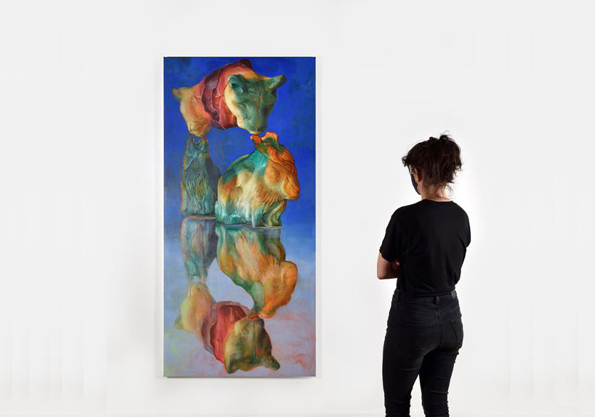 "Maude Maris'in ""BLUE MILK"" Sergisi Pi Artworks'te"
