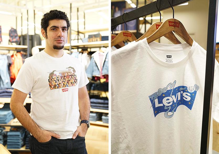 Murat Palta'nın Çizgileri Levi's® Print Bar'a İstanbul Yorumu Katıyor