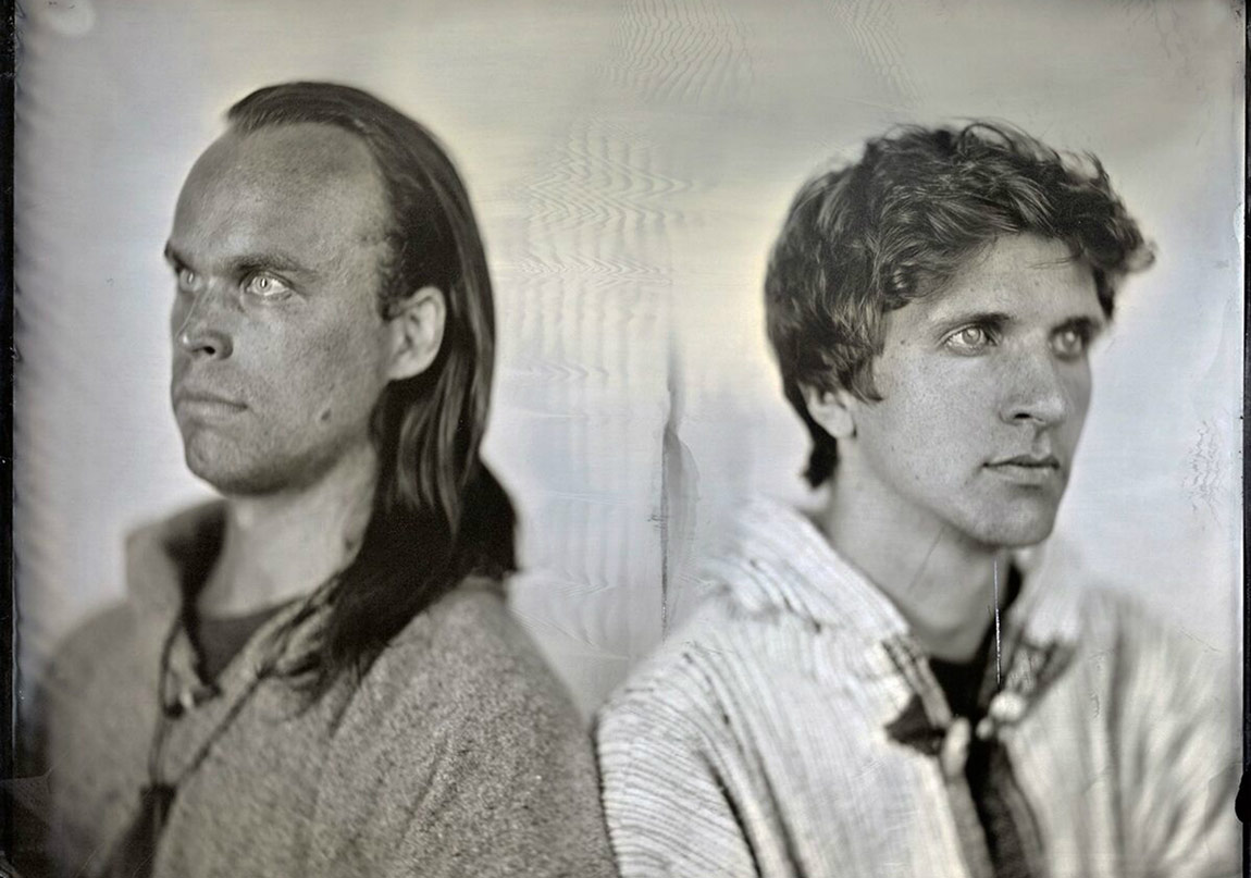 Peter Broderick ve David Allred Sahnede