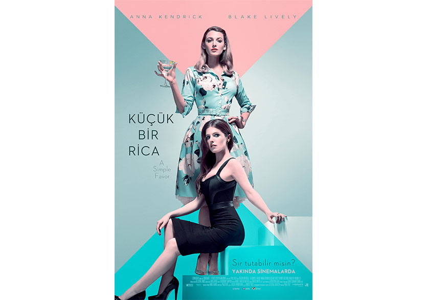 A Simple Favor'dan Yeni Poster