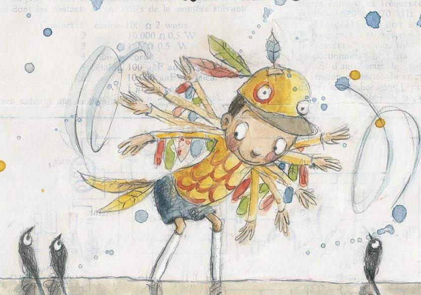 """Kuşlarla Bağ Kuran Bir Çocuk: """"Tuhaf Kuş"""""""