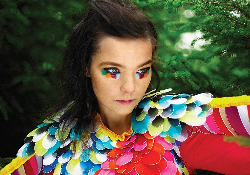 Björk'ün Oldukça İyimser Sihirli Evreni