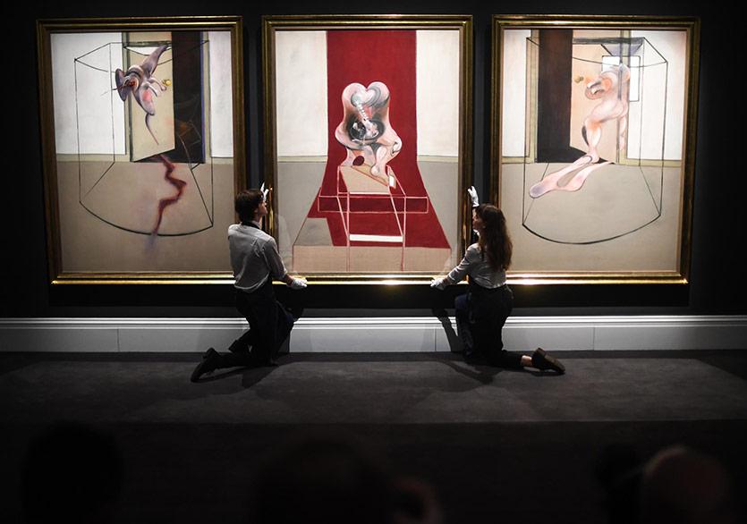 Francis Bacon'ın Bir Tablosu Sanal Müzayedede Satıldı