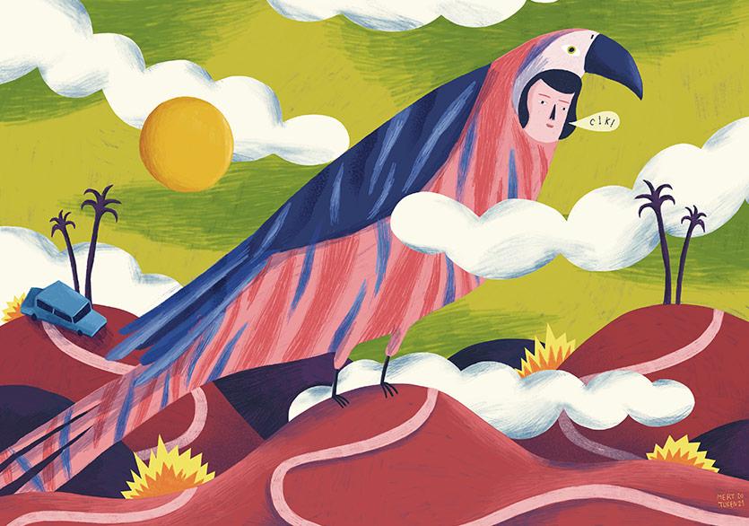 Sanatçılardan Çizimlerle Çocukluk Hatıraları Kitabı