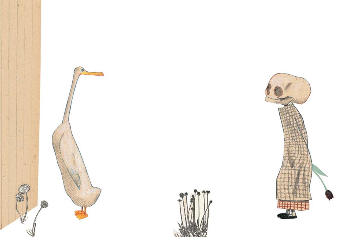 Ördek, Ölüm ve Lale