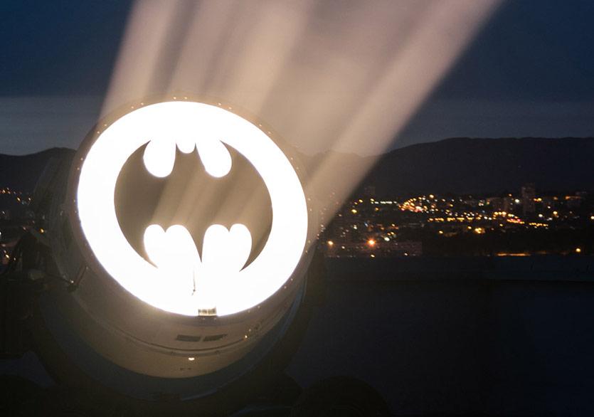 MAMO Batman Işıklarıyla Parıldıyor