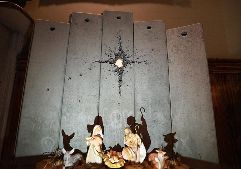 Banksy'den İsa'nın Doğumu Yorumu