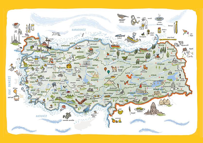 Mavisel Yener'den Türkiye'de Büyülü Bir Yolculuk