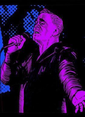 Morrissey Yeni Albümüyle Çizgi Hikâyede