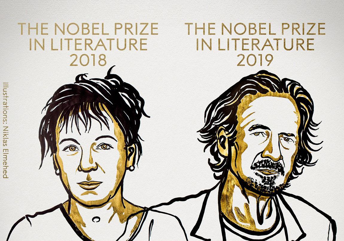 2018 ve 2019 Nobel Edebiyat Ödülü'nün Sahipleri Belli Oldu
