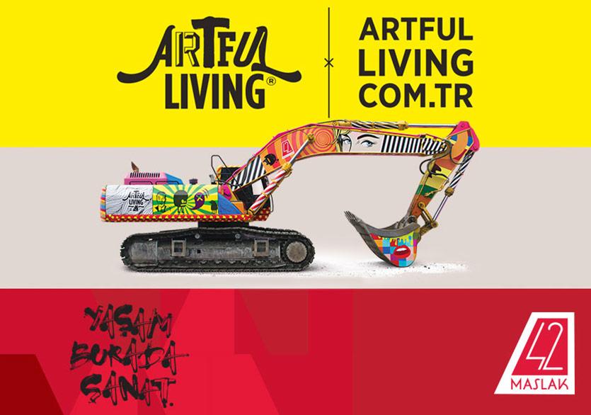 42 Maslak, Türkiye'den ve Dünyadan Güncel Sanat Haberlerini Artful Living'ten Alıyor