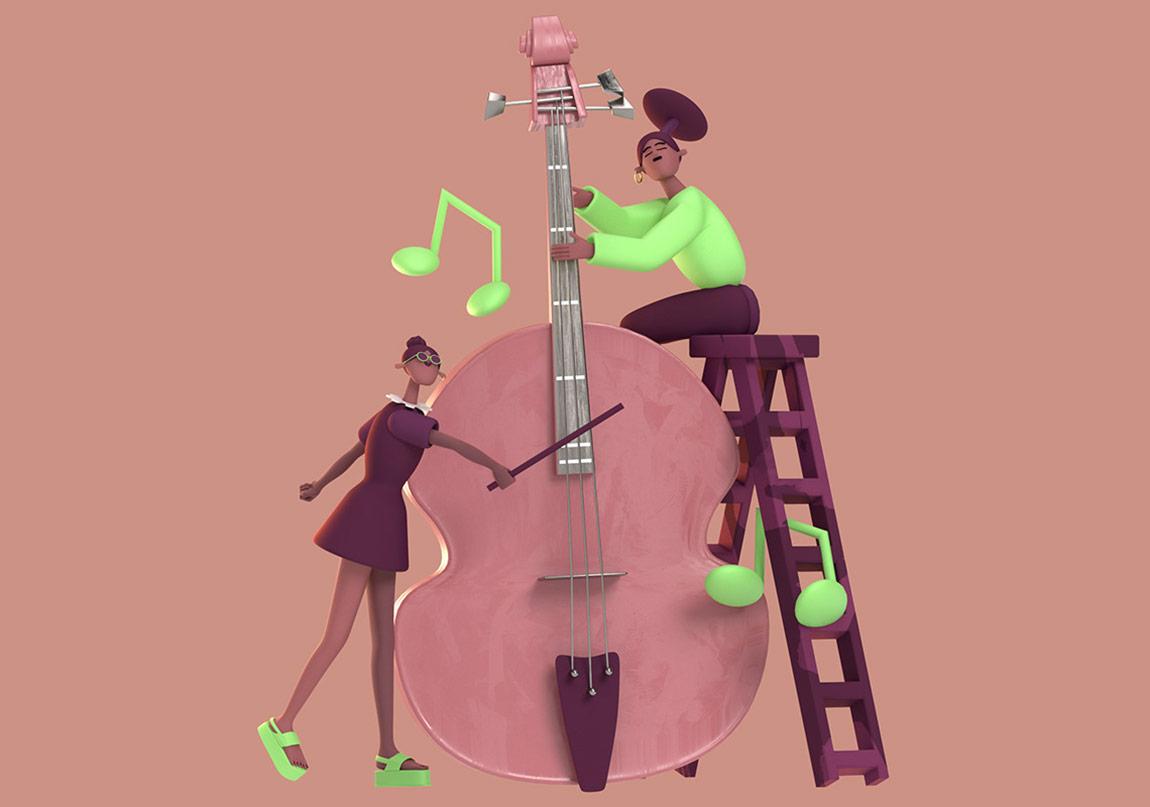 Müzikle Yaşayan Kadınlar