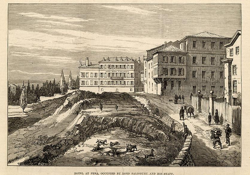 19. Yüzyılın Pera'sından Bir Kesit