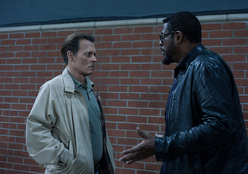 "Johnny Depp ve Forest Whitaker'lı ""City Of Lies"" Filminden Fragman"