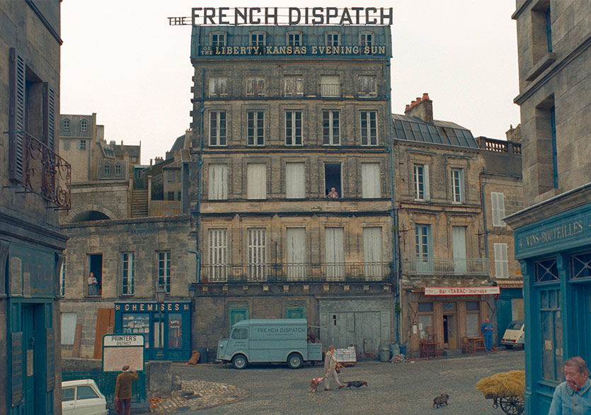 The French Dispatch'ten İlk Görseller Yayımlandı