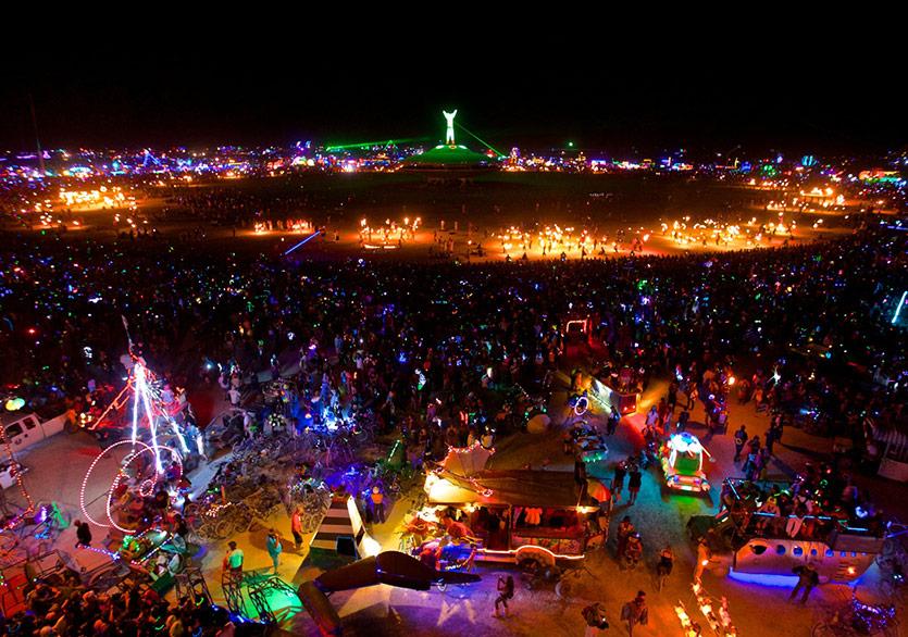 Burning Man Festivali Başladı