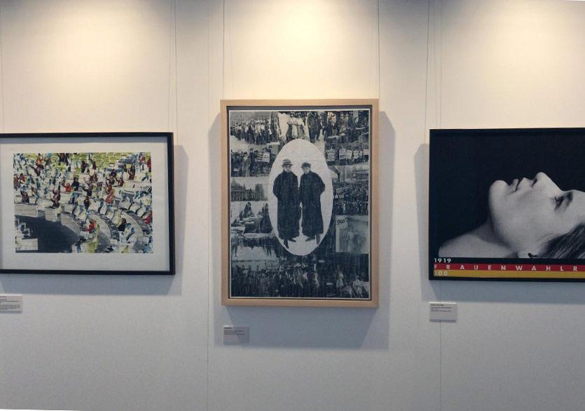 Azade Köker Almanya Parlamentosu Sergisine Seçilenler Sanatçılar Arasında
