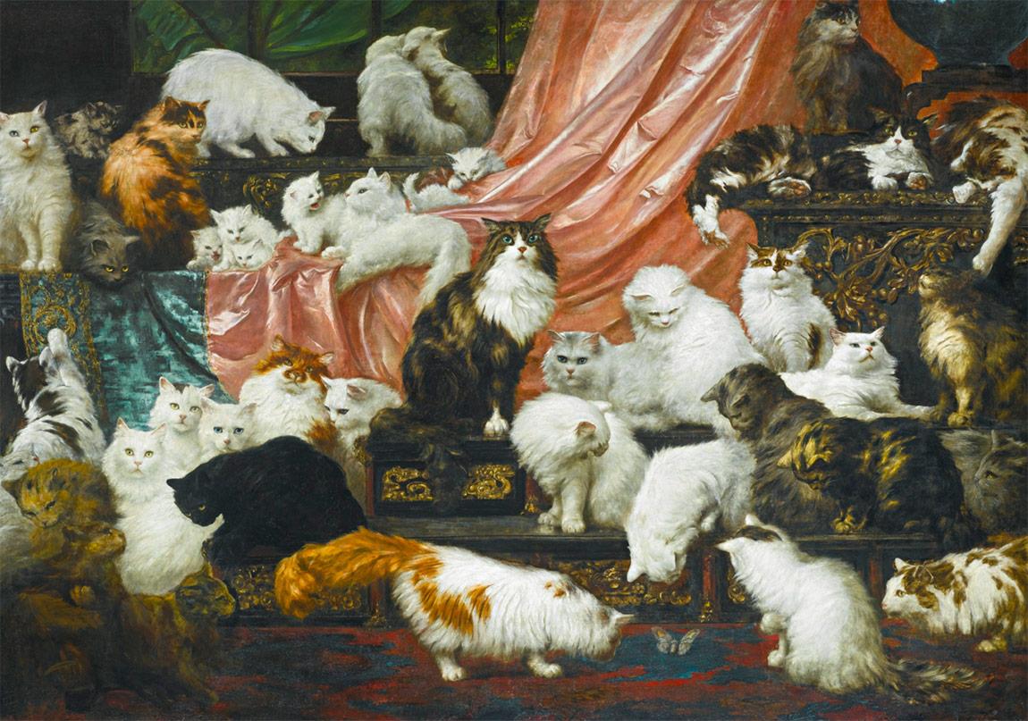 1800'ler İngiltere'sinde Kedi