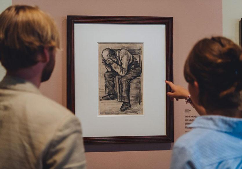 Van Gogh'un Yeni Keşfedilen Çizimi İlk Kez İzleyici Karşısına Çıktı