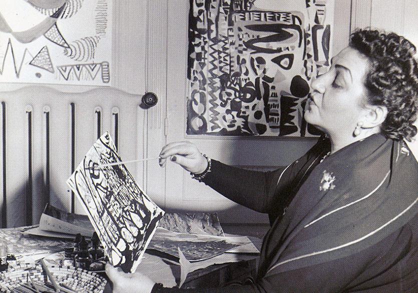 Fahrelnissa Zeid'in Büyüsü Tate Modern'de