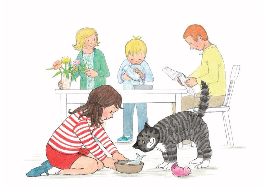 Judith Kerr'den Çocuklar İçin Kitaplar