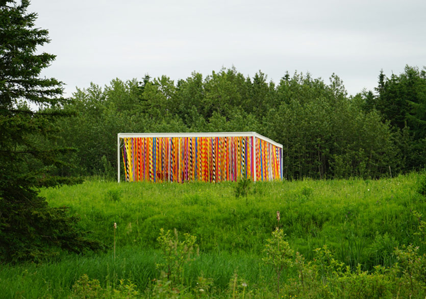 Kanadalı İkiliden Çağdaş Sanat Dokunuşlu Bahçe