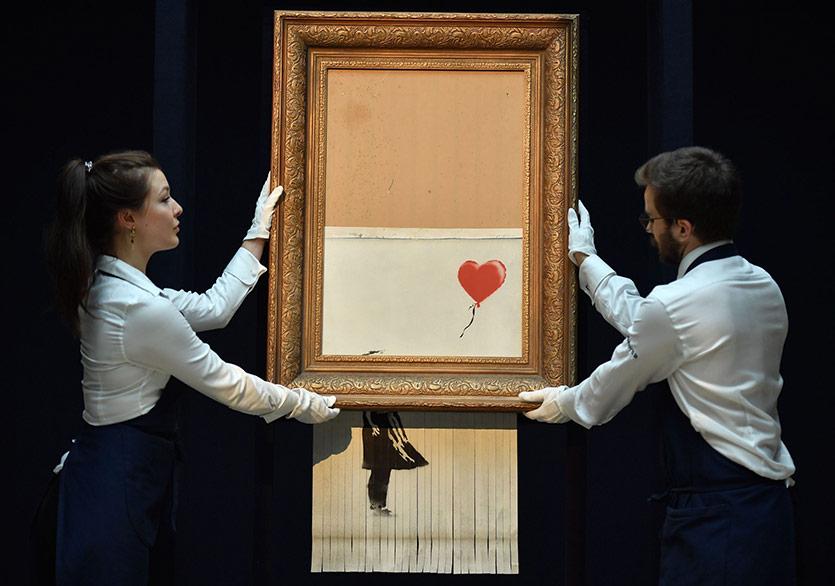 Banksy'nin  Sansasyonel Resmi Alman Müzesi'nde Sergilenecek