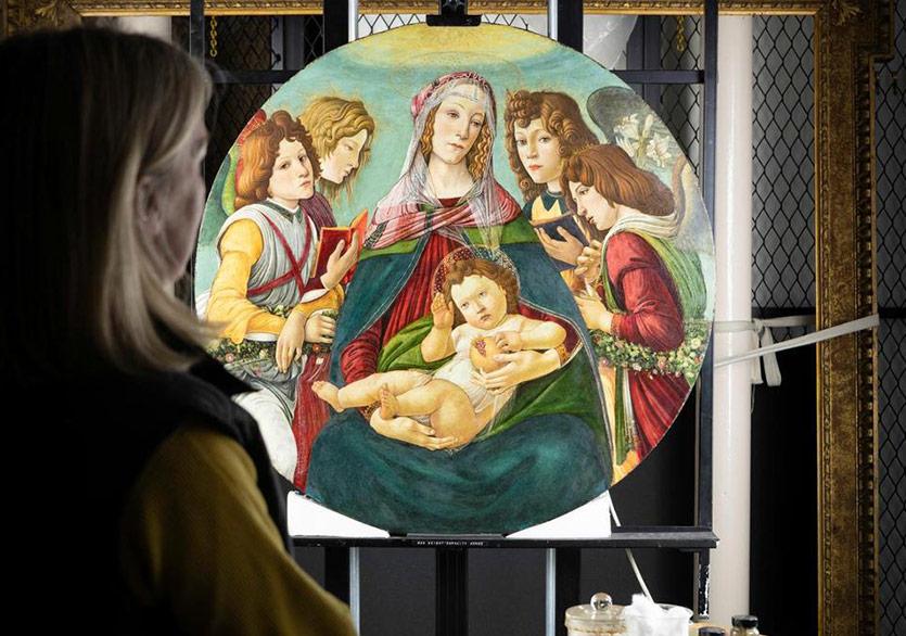 Madonna of the Pomegranate İmitasyonunun Orijinal Olduğu Keşfedildi