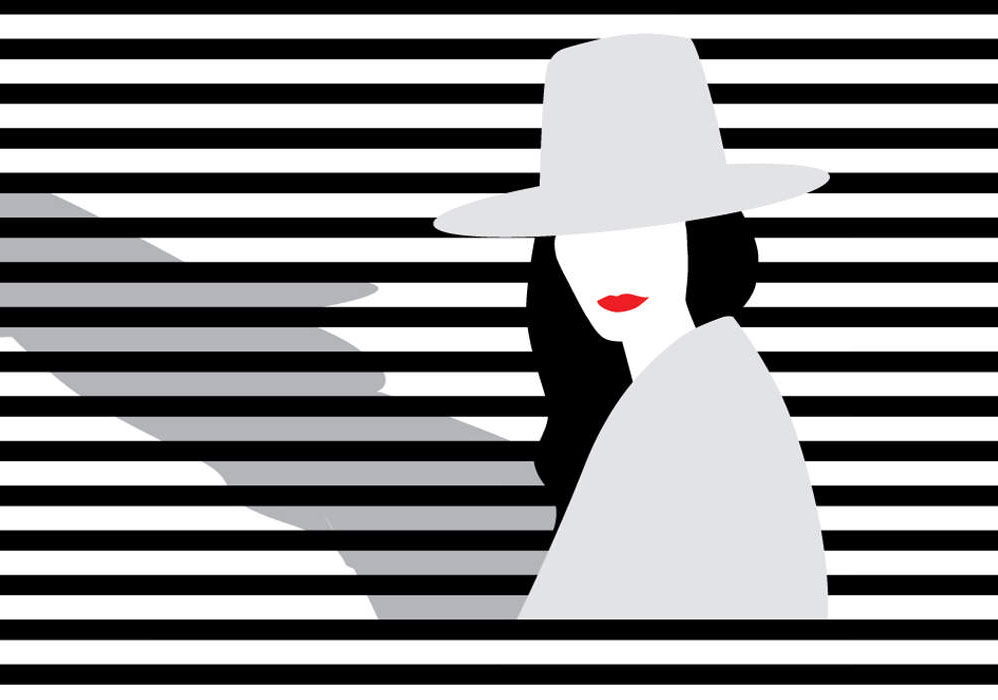 İkonik Portreler Minimal İllüstrasyonlarda
