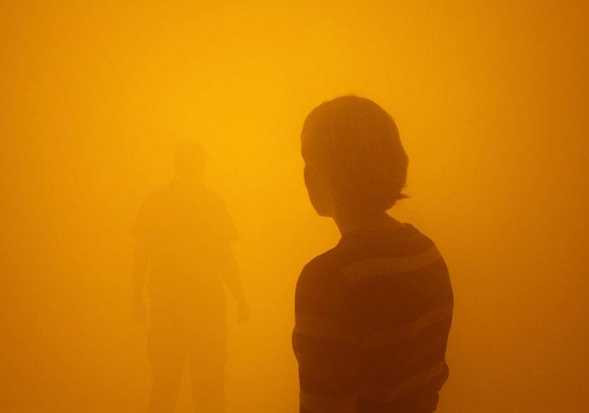Olafur Eliasson'un Sis Tüneli Tate Modern'de