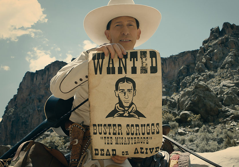 "Coen Kardeşler'in ""The Ballad of Buster Scruggs"" Filminden Fragman"
