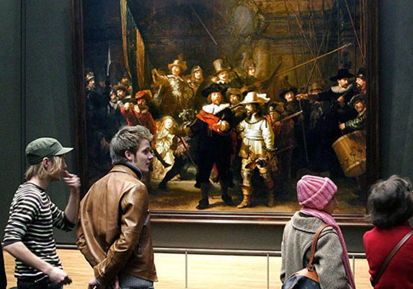 Rembrandt'ın Gece Devriyesi Canlı Onarım