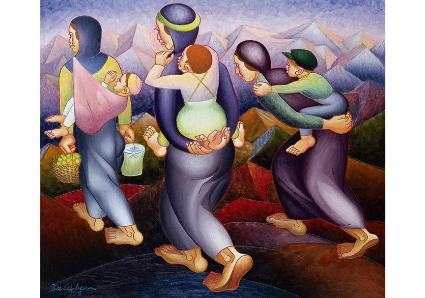 Balaban'a Uzun Ömürler ve Saygılar Sergisi