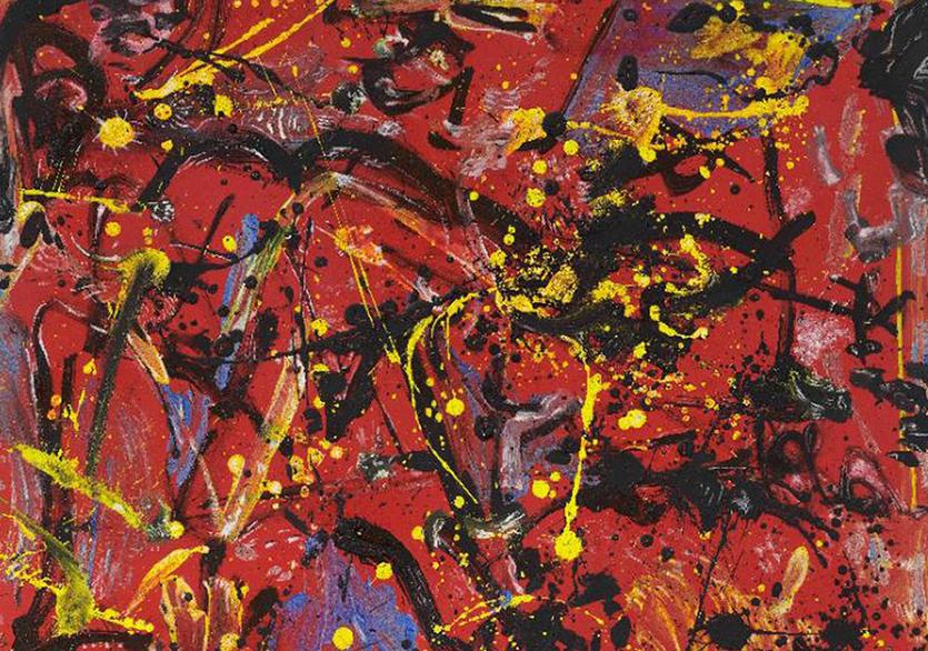 """Pollock'un """"Red Composition""""ı Christie's'de Satışa Çıkarılacak"""