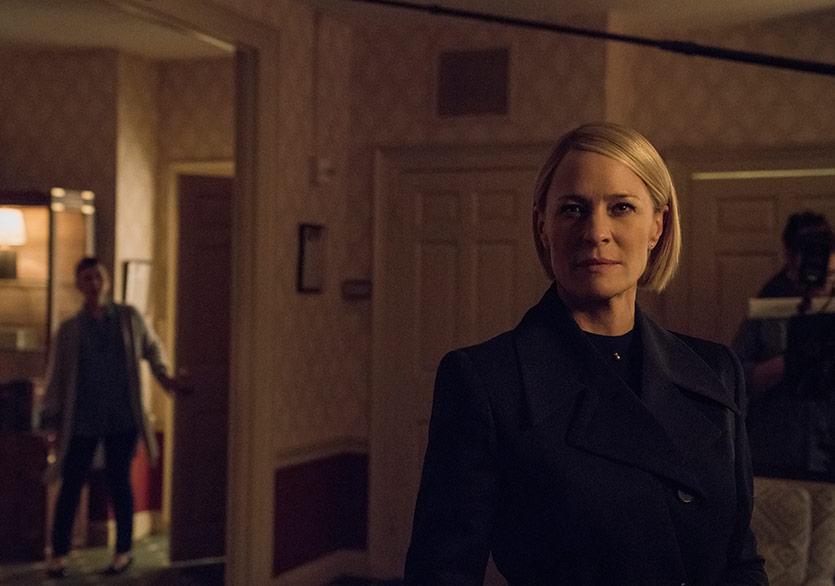 House of Cards'ın Altıncı ve Son Sezonundan İlk Görüntüler