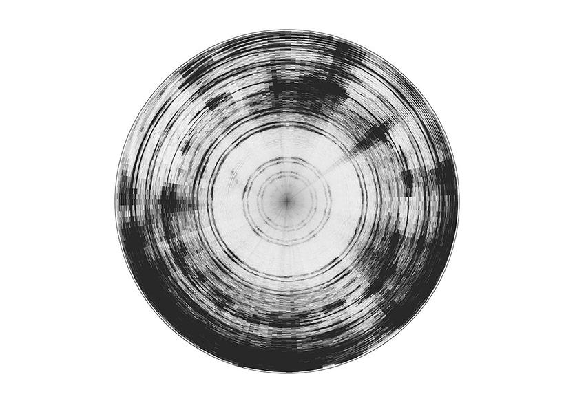 Uzaydan Gelen Ses Dalgalarının Resmi