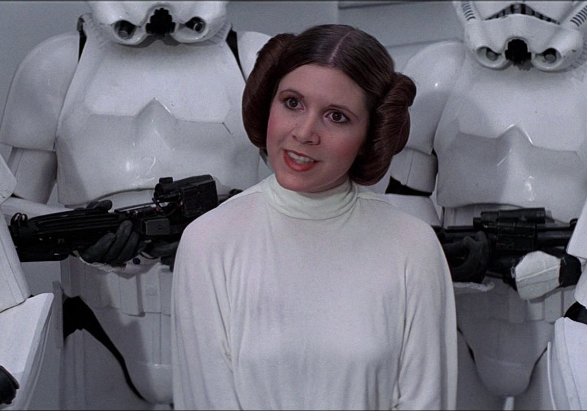 Carrie Fisher' a Veda