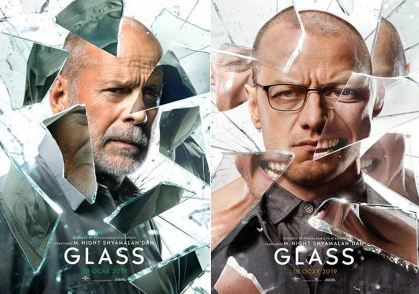 Glass Filminden Karakter Afişleri Yayımlandı