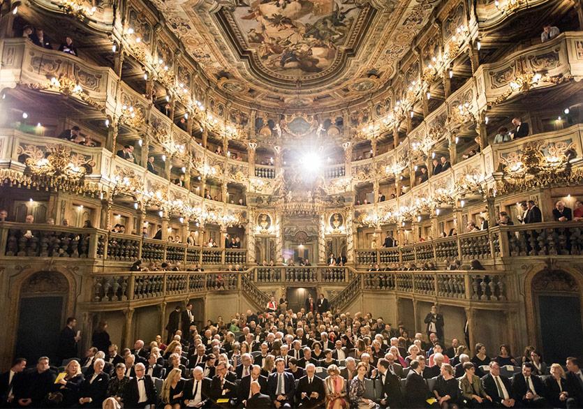 Margravial Opera House Tekrar Perde Açtı