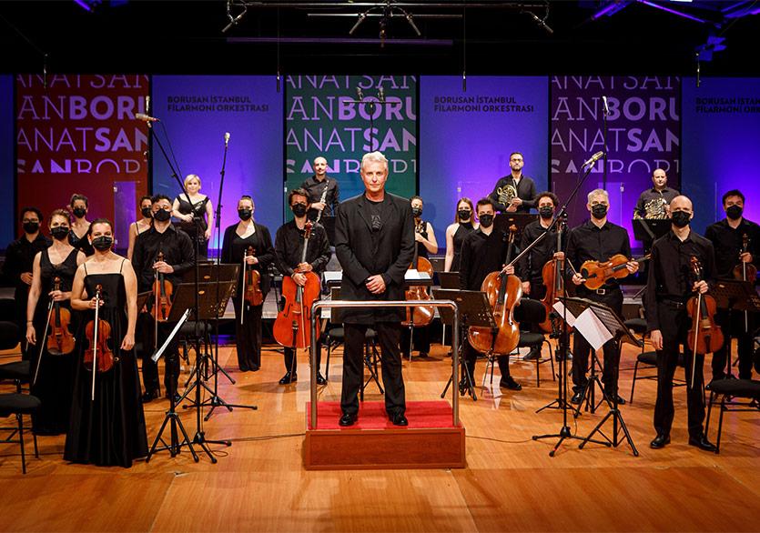 """Borusan Sanat'ta Sezonun Son Konseri """"BİFO & Alexander Liebreich"""""""