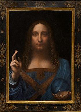 """Erkek Mona Lisa Olarak Tanınan """"Salvator Mundi""""nin Hikâyesi"""