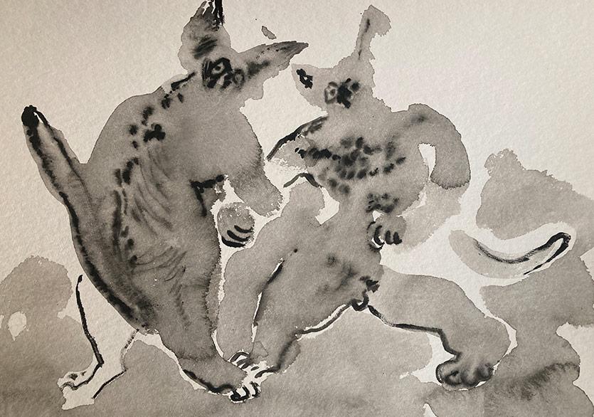 """İrem Nalça'nın """"Güneşin Duvarı Yok"""" Sergisi Simbart Projects Çukurcuma'da"""