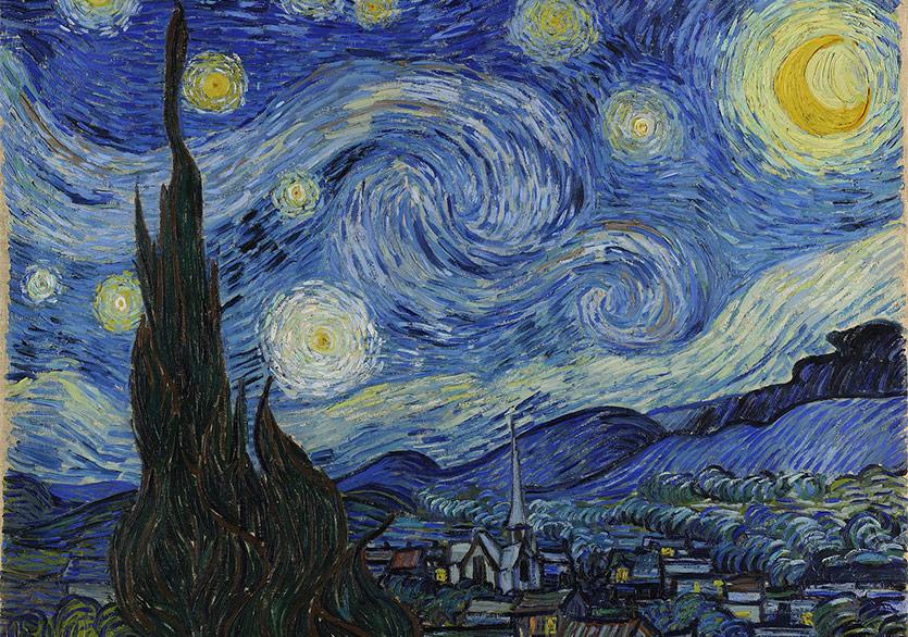 """Vincent van Gogh'un """"Yıldızlı Gece""""sini Yeniden Keşfedin"""
