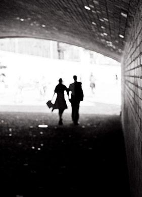 Üç Şehir, Üç Yazar ve Üç Zaman: siyah sert BERLİN