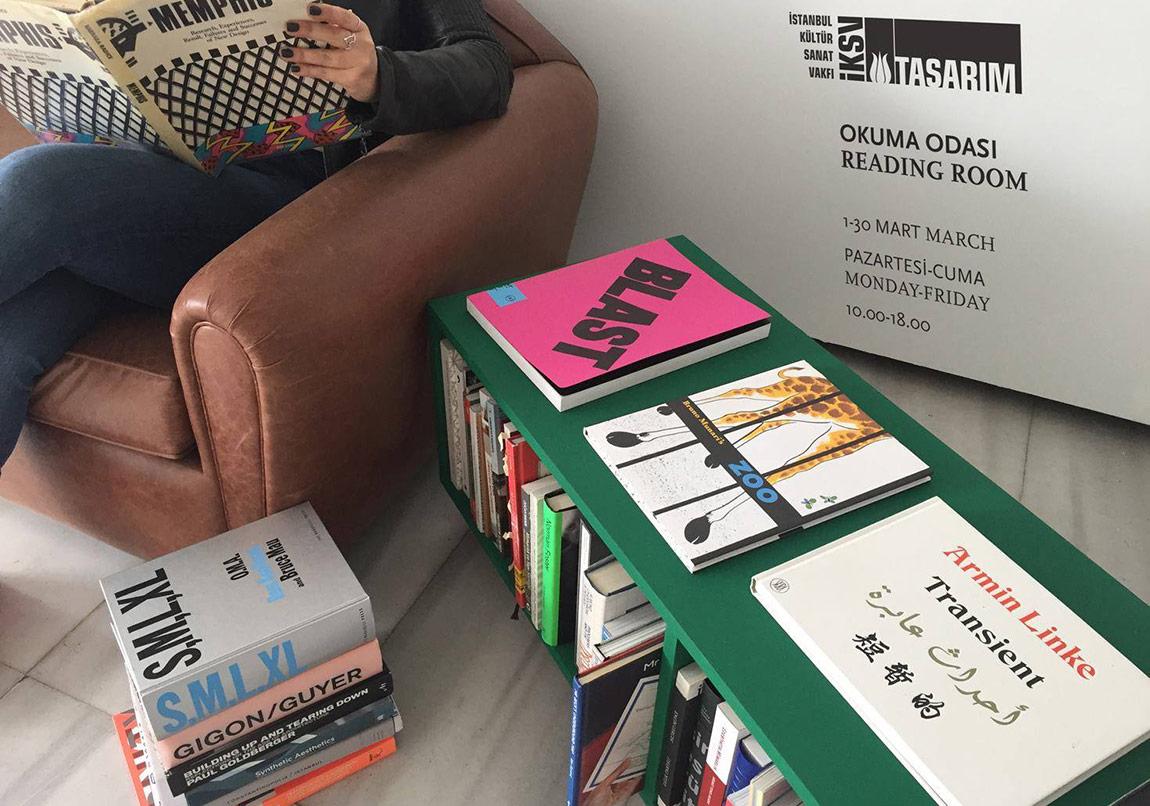 İstanbul Tasarım Bienali Okuma Odası Ziyaretçilerini Bekliyor