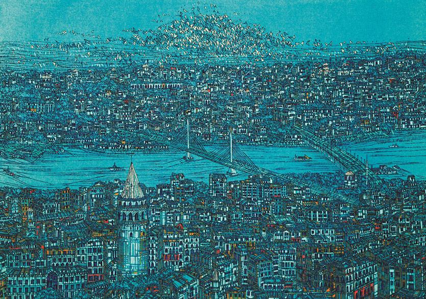 Mario Levi ve Uğur Batı'dan Devrim Erbil'in İstanbul'u