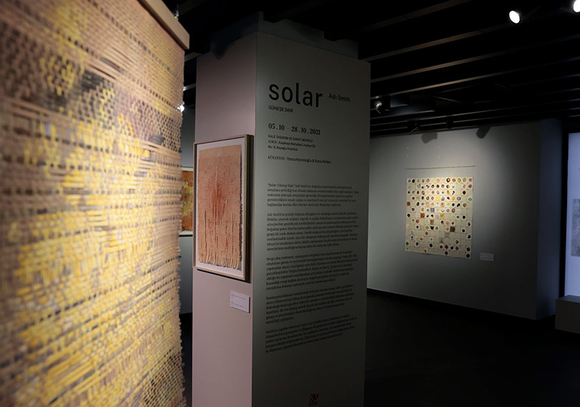 """Aslı Smith'in """"Solar: Güneşe Dair"""" Sergisi KTSM'de"""